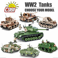 COBI WW2 Tanks Construction Set - Choose Your Model