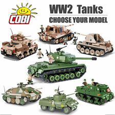 COBI WW2 Tanks Construction Set - Choose Your Model