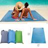 Outdoor Pocket Beach Blanket Waterproof Ground Cover Sand Proof Picnic Mat Rug