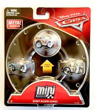 Disney Pixar Cars 3 PACK Mini Die Cast Racers Derby Series Fishtail APB Cigalert