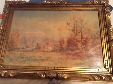 TRES BELLE AQUARELLE DE HENRI JOUBERT né en 1873
