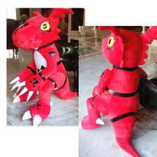 Digimon Digital Monster Guilmon X-evolution huge plush doll cosplay Replica 59""