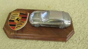 Porsche Panamera Turbo 4 IN Long Fonte Aluminium Modèle Voiture Avec / Étiqueté
