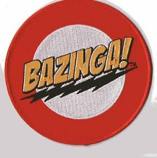 PARCHE THE BIG BANG THEORY  BAZINGA PATCH