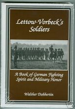 LETTOW-VORBECK'S SOLDIERS (WWI GERMAN EAST AFRICA)