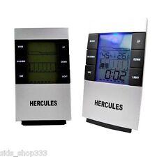 Hercules ~~ Weather Multi-Function LCD Alarm Clock,Calendar,Temperature,Forecast