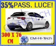 PELLICOLA OSCURANTE VETRI AUTO 35% LUCE LITE TUNING PER PUNTO CLIO 206 MITO 147
