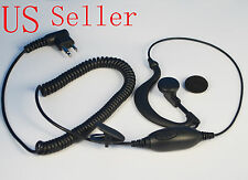 Ear-Clip Earpiece Headset For Motorola radio MagOne BPR40 A8 EP450 AU1200 USA