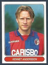 PANINI EUROPEAN FOOTBALL STARS 1997- #089-BOLOGNA & SWEDEN-KENNET ANDERSSON