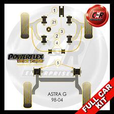 Vauxhall Astra MK4 (98-04) Powerflex Black Full Kit Fits SRi/GSi 2.0T Z20LET