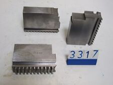 3 TEC chuck jaws for lathe(3317)
