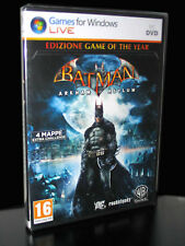 BATMAN ARKHAM ASYLUM EDIZIONE GAME OF THE YEAR GIOCO NUOVO PC ED ITA PCC021591