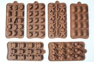 Decoration Mould Baking Tray Silicone Fondant Cake/Chocolate/Cookie Funny Shapes