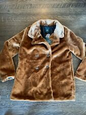 Wild Fable Teddy Coat Size Medium Double Breasted NEW NWT