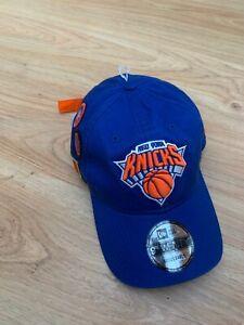 BNWT New York Knicks Baseball Cap Hat New Era 9Twenty Adjustable One Size NBA