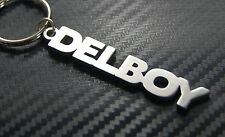 DEL BOY Plonker Nickname Keyring Keychain Key Fob Bespoke Stainless Steel Gift