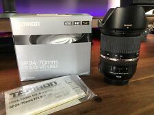 Tamron SP 24-70mm f/2.8 Di VC USD Lens (for Canon EF) - Great Shape!