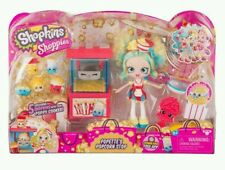 Shopkins NEW Shoppies Popette's Popcorn Cart Playset! Great Gift Item!!!