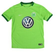 NIKE VFL WOLFSBURG HOME SOCCER JERSEY YOUTH SIZE M NEW NWT
