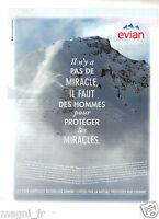 Publicité 2014 - EVIAN