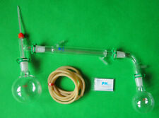 500ml 24/40 Lab Glass Distillation Apparatus Chemistry Glassware Kit