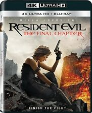 Resident Evil: The Final Chapter [New 4K UHD Blu-ray] With Blu-Ray, 3D