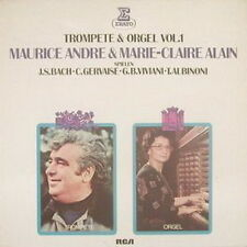 """12"""" Maurice Andre & Marie Claire Alain Trompete & Orgel Vol. 1 (RCA)"""
