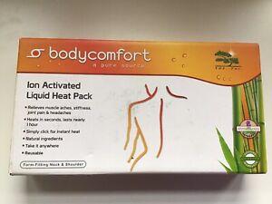 Body comfort Ion Activated Liquid Instant Heat Pack. Neck/shoulder Pain Relief.