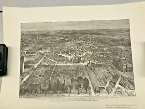 Historic Urban Plans Map Reproduction Vintage National Capital Wash DC Ltd Ed