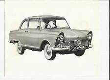 "DKW 40 S PRESS PHOTO  ""SALES BROCHURE""  1961 1962"