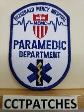 FITZGERALD MERCY HOSPITAL, PENNSYLVANIA PARAMEDIC DEPARTMENT EMS EMT PATCH
