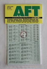 Archer 1/35 Assorted 105mm, Compo box and British Biscuit Tin Stencils AR77008