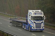 More details for truck photo 12x8 - scania s580 v8 - jaga brothers - j90 jbt