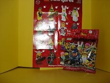 LEGO 8831 MINIFIGURINE  N°5 NEPTUNE POSEIDON ROI MER NEUF jamais ouvert Série 7