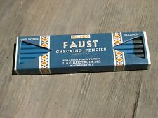 Faust Checking Pencils New old stock