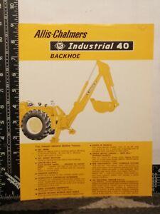 Allis Chalmers Industrial 40 Leaflet 1/16