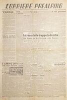 Quotidiano di Varese - Corriere Prealpino N. 10 Resa delle truppe tedesche 1945
