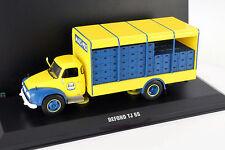 Bedford TJ 6S LKW Baujahr 1965 gelb / blau 1:43 Ixo