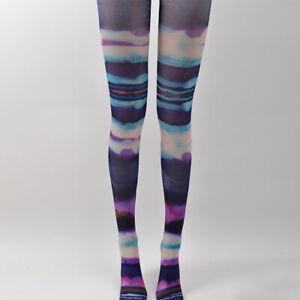 Gothic Girl Lolita Tights Pantyhose Moon Star Galaxy Printing Cosplay Stockings