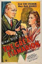 The Great Flamarion 1945 - Erich von Stroheim Anthony Mann Vintage Film Noir DVD