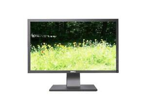 """Dell P2411Hb 24"""" 1920x1080 WideScreen 1920x1080 60Hz LCD 5ms Monitor Grade A-"""