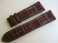 GENUINE GIRARD PERREGAUX WATCH ALLIGATOR LEATHER STRAP BAND 24mm BROWN NEW 24/19