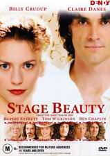 Claire Danes Billy Crudup STAGE BEAUTY - GENDER ROLE RULES PERIOD DRAMA DVD