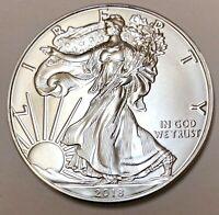 2018 American Silver Eagle 1 oz BU