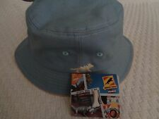 HORNY TOAD BUCKET HAT  WOMENS BLUE  NWT