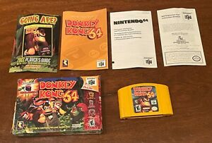 Authentic Donkey Kong 64 Nintendo N64 Complete in Box w/ Manual CIB