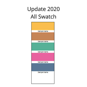 Download Stampin Up Paper Cardstock Tool Organization Template ALL Color Swatch