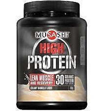 Musashi P High Protein Vanilla 900G