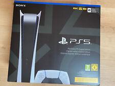 Sony Playstation 5 PS5 Konsole Digital Edition Neu OVP inkl Rechnung