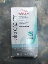 Wella Color Charm Permanent Liquid Hair Toner In T14